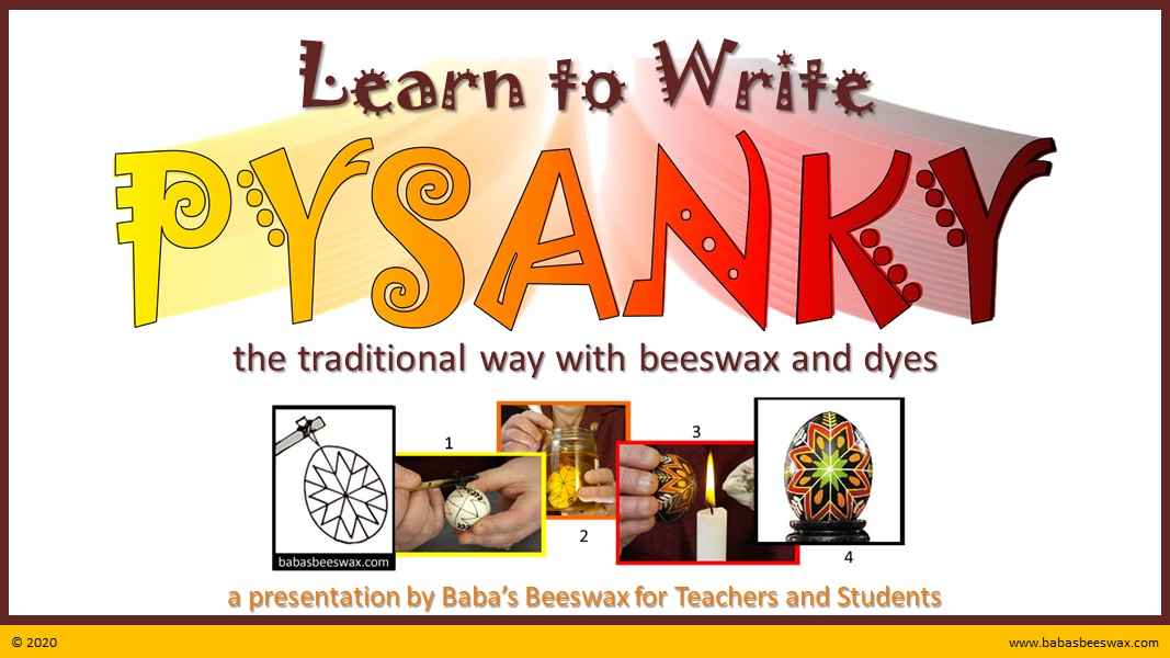 Learn to Write Pysanky Teacher Guide